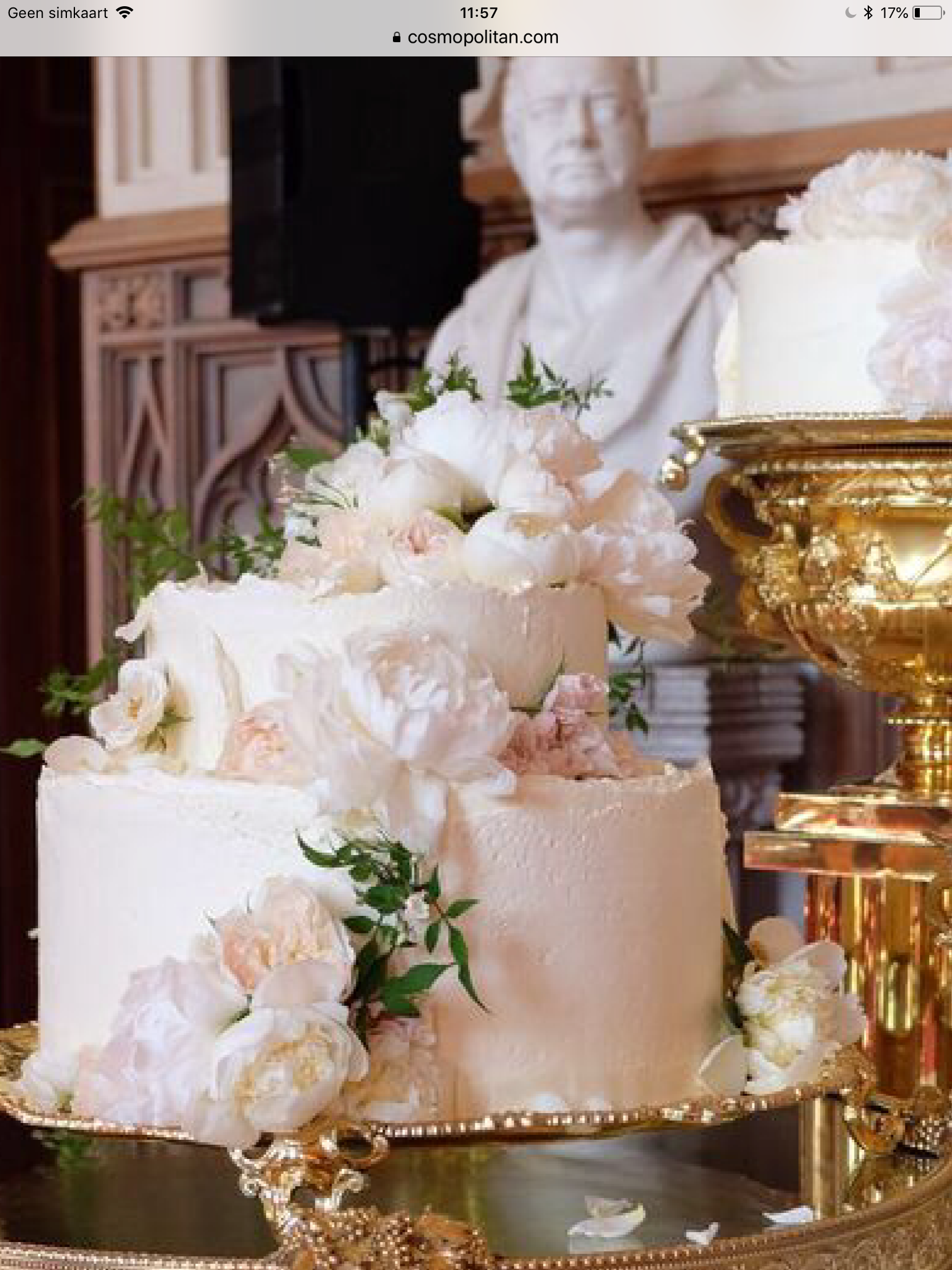 Royal Wedding Cake Harry Meghan Royal Wedding Cake Harry