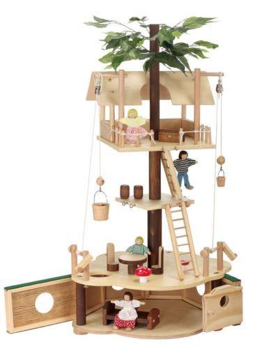 MAXIM-TUMBLE-TREEHOUSE-Deluxe-AND-Basic-Treehouse-Sets-Dollhouse
