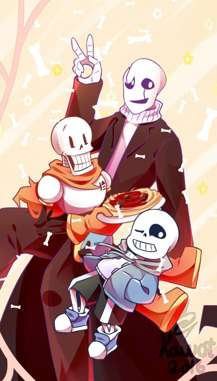 Skele Family Gaster Sans And Papyrus Undertale Undertail