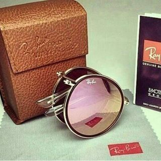 Óculos Roud Rosa Espelhado Dobrável - Boutique Zax