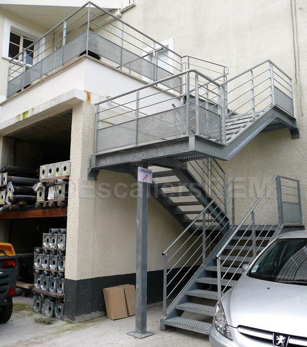 Escalier-industriel-entrepot-7jpg 621×700 pixels Stairs Pinterest