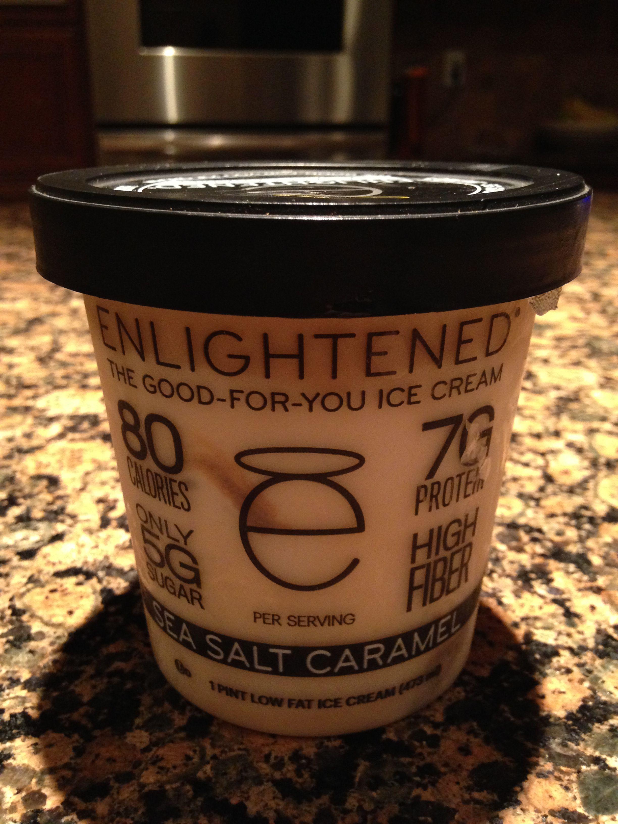 Enlightened Ice Cream Pints Sea Salt Caramel Review
