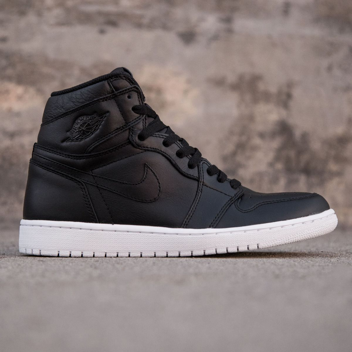 détaillant c1393 61ef5 Air Jordan 1 Retro High OG Men (black / white / noir ...
