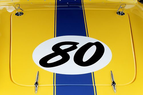 #Race_Car #Detail #caffeveloce #80 #stripes