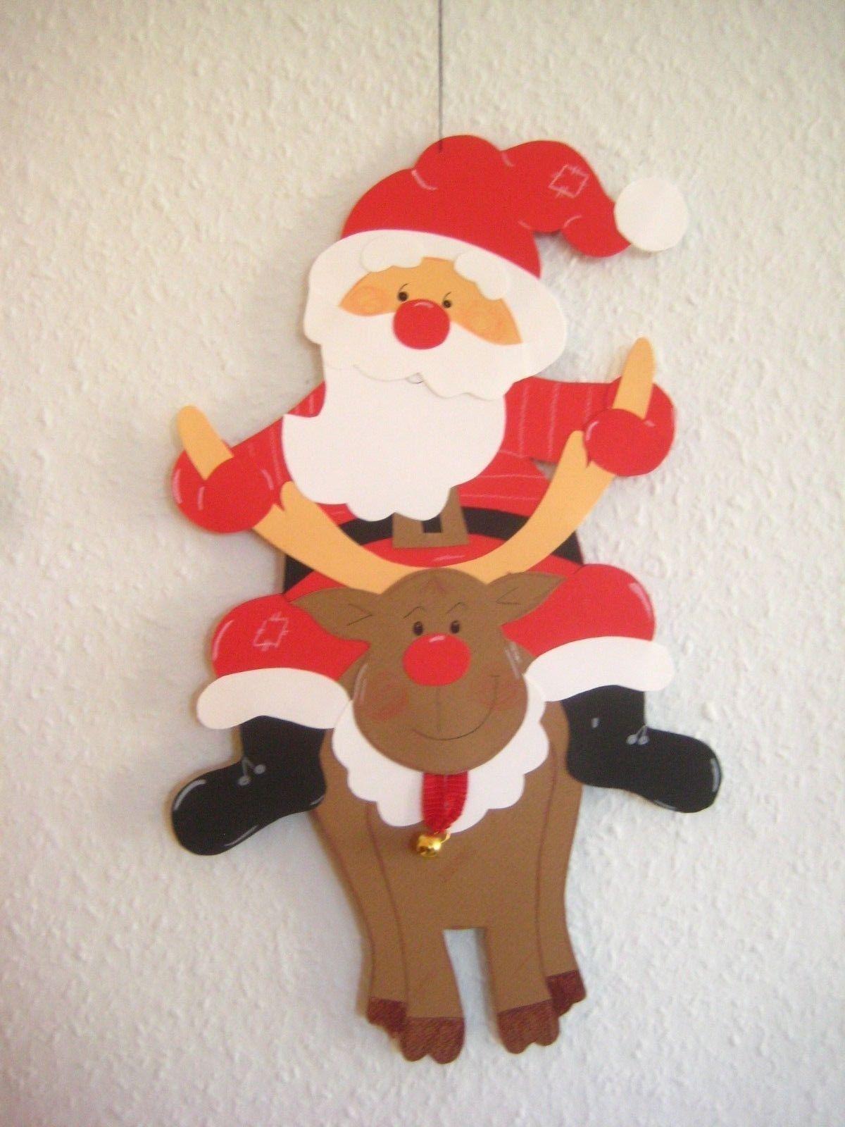Fensterbild Tonkarton Weihnachtsmann L Winter Weihnachten Deko Eur 13 00 Hallo Sc Basteln Mit Kindern Weihnachten Weihnachtsmann Basteln Basteln Weihnachten
