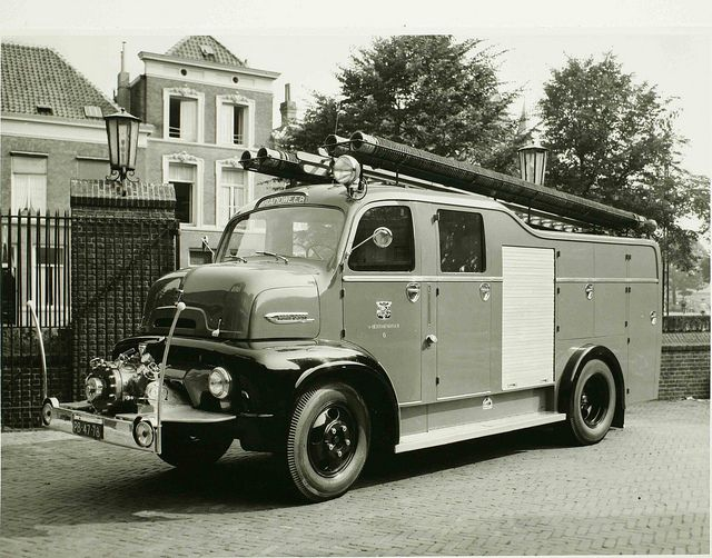 1954 Ford C-620 COE four door utility body, by Wouter Duijndam, via Flickr