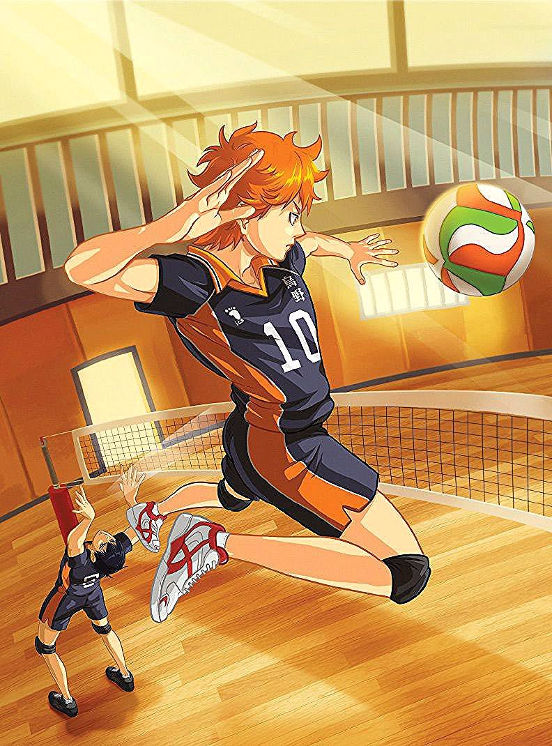 Ever Since He Saw The Legendary Player Known As The Little Giant Compete At The National Volleyball Finals Shoyo Hina Haikyuu Haikyuu Karasuno Haikyuu Anime