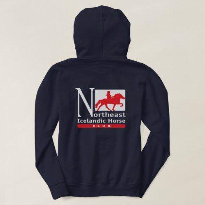 NEIHC Women's Hoodie - horse animal horses riding freedom