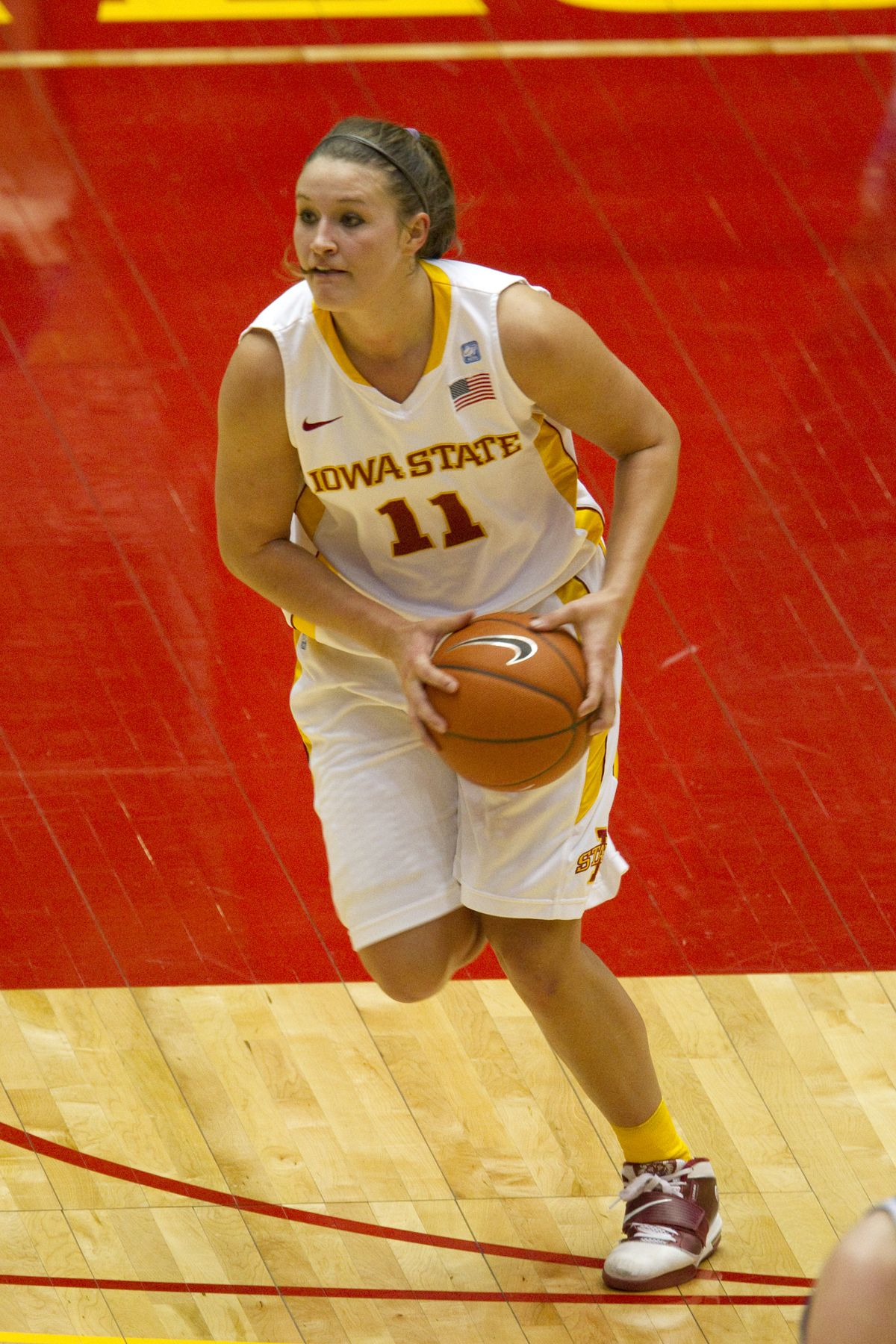 Kelsey Bolte Finished Her Career Sixth All Time At Iowa State With