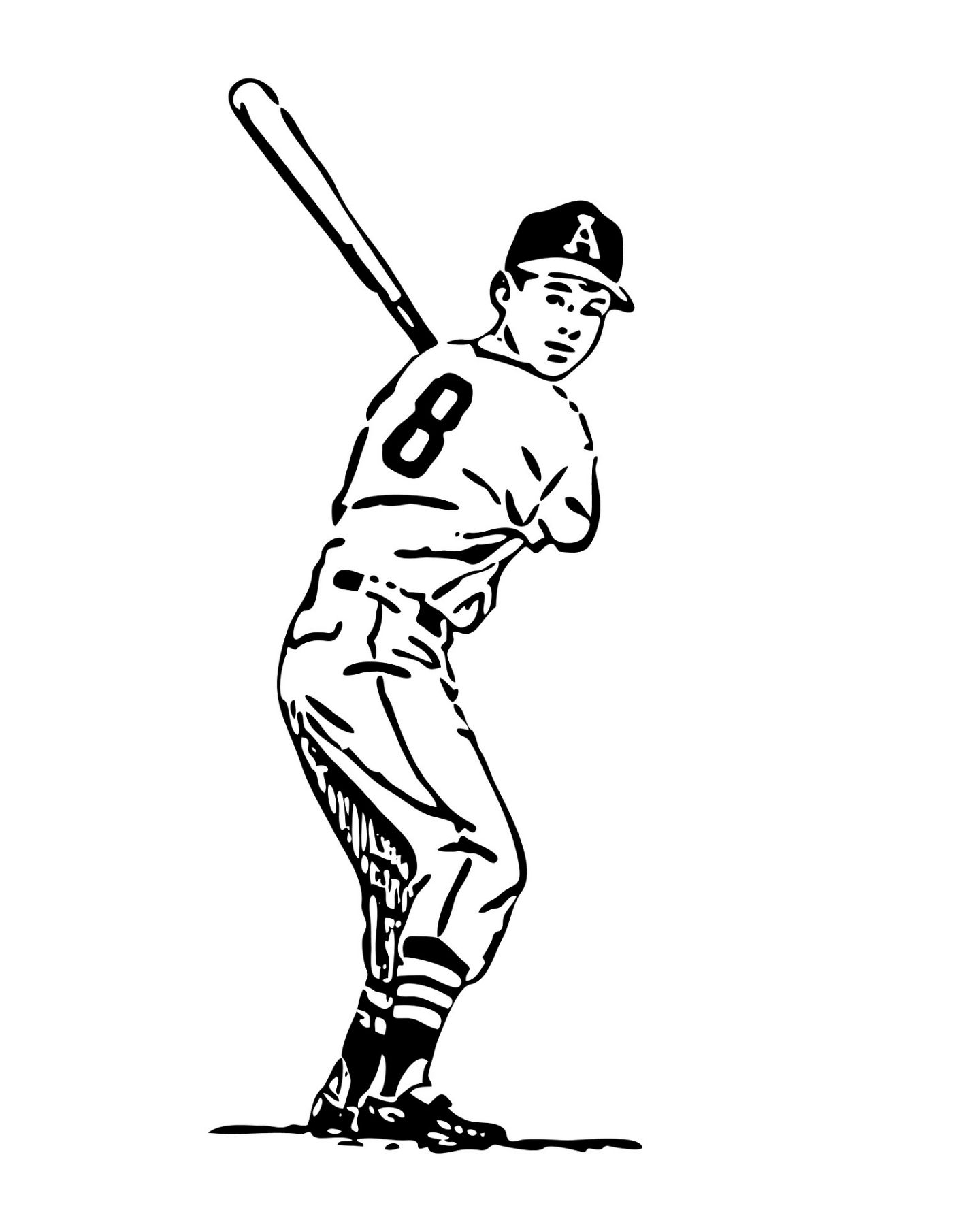 Hit The Correct Movement Coloring Pages For Kids 1r Printable Baseball Coloring Pages For Kids Baseball Coloring Pages Sport Outfit Woman Coloring Pages