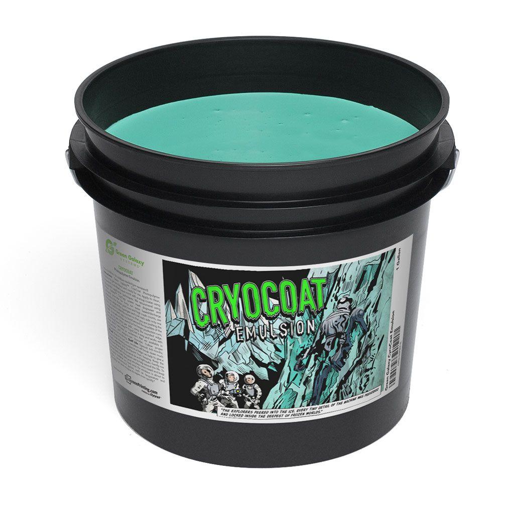Green Galaxy CryoCoat Emulsion Green galaxy, Water based