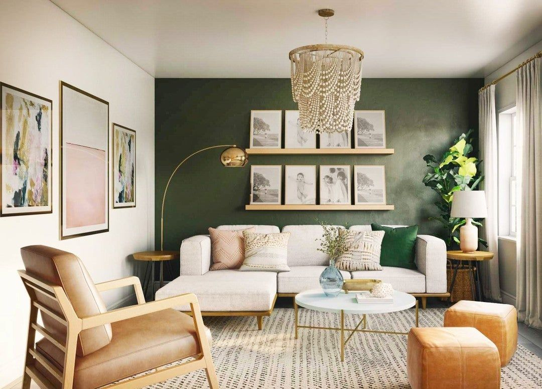 Silicus Pink Round Coffee Table -   17 sage green living room decor inspiration ideas