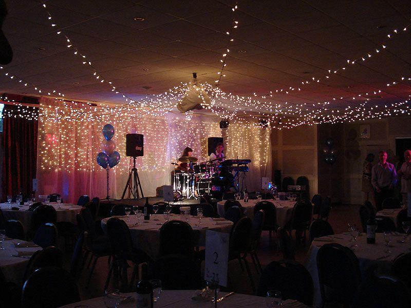 fairy lights Wedding Drapes And Lights Pinterest Weddings