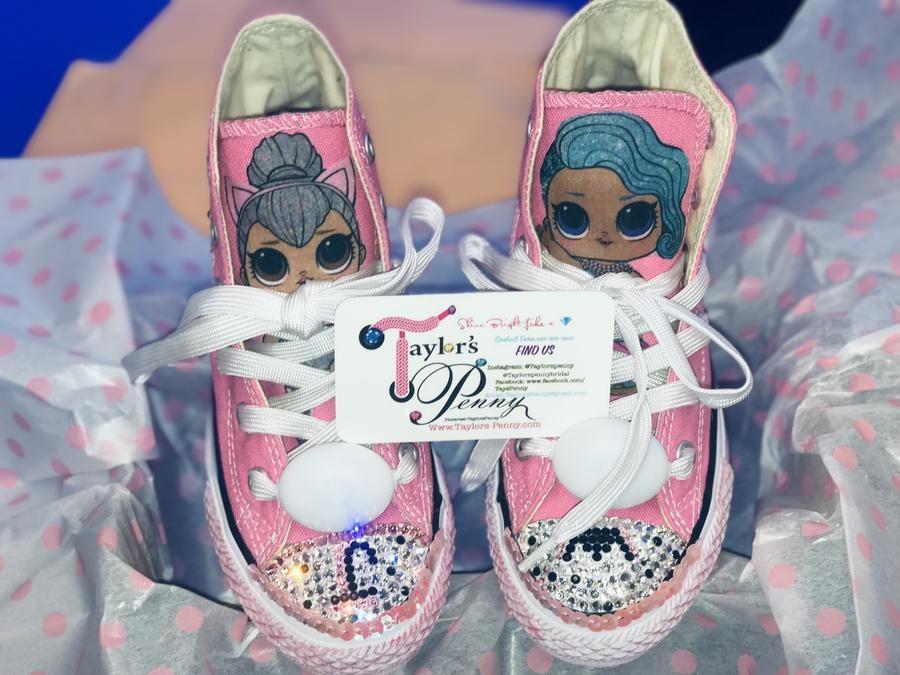 Girls Bling Converse (LOL Surprise) Sneakers
