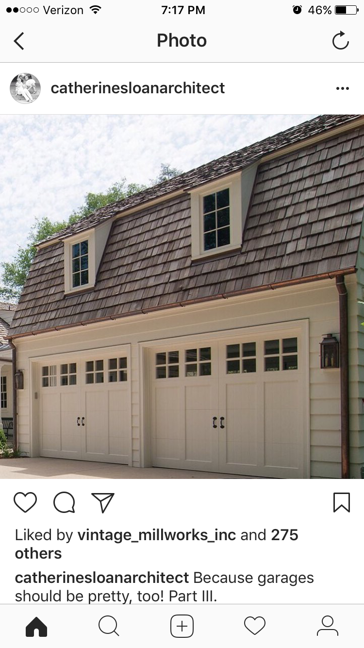 Pin By Emily Bradford On Home Exterior With Images House Exterior Garage Remodel Outdoor Decor