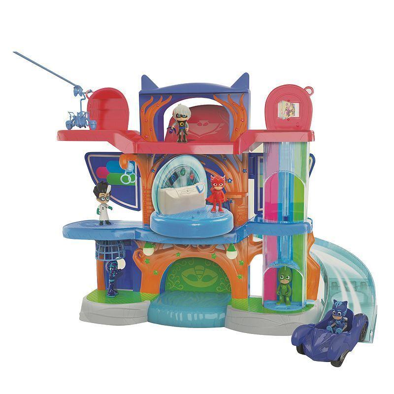 PJ Masks Deluxe Headquarters Play Set, Multicolor