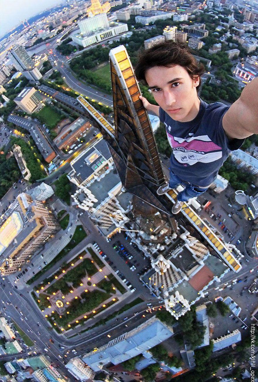 30 photos vertigineuses qui defient la mort 13   29 photos vertigineuses qui défient la mort   vertige skywalker photo peur mort image haute...