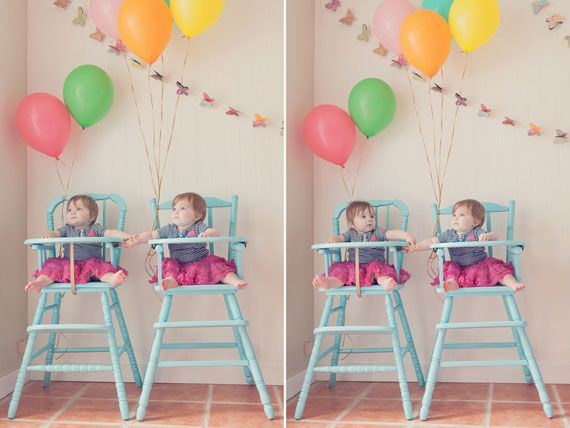 Twins 1st Birthday Party Spearmint Baby Charlottes 2nd