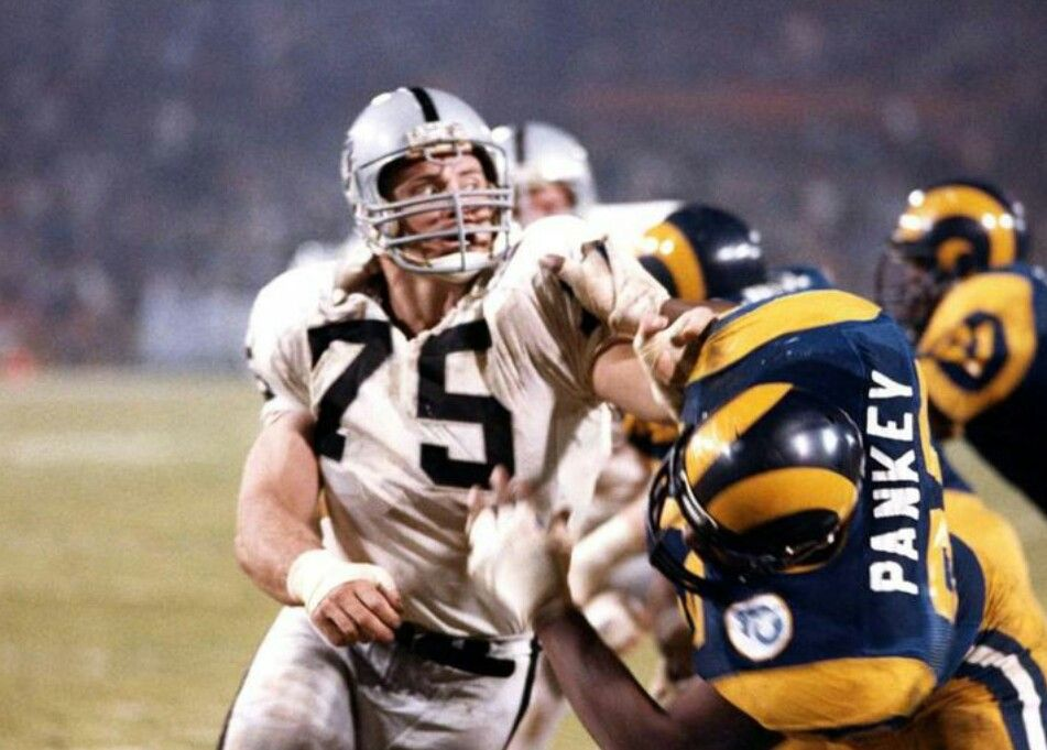 Hall Of Fame Howie Long Los Angeles Raiders Oakland