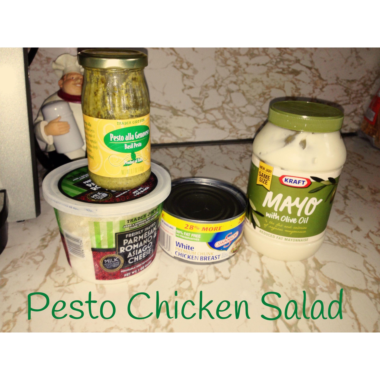 pesto chicken salad chicken breast olive oil mayo. Black Bedroom Furniture Sets. Home Design Ideas