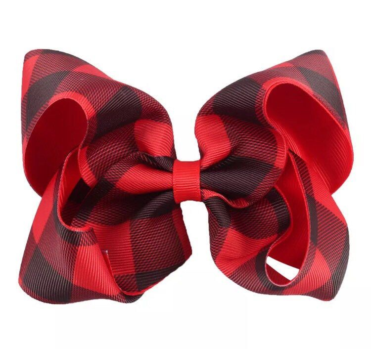 Black 3 Inch Grosgrain Bow for Little Girls Set of 2