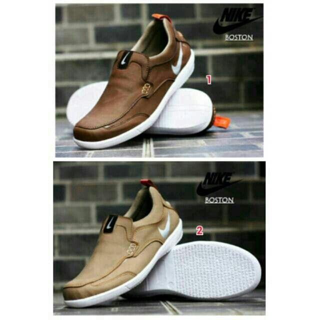 Saya Menjual Sepatu Nike Casual Pria Slop Santai Jalan Shoes Slip On Kampus Kuliah Flat Formal Kerja Kantor Seharga Rp229 000 Pin 331e Sepatu Sepatu Nike Nike