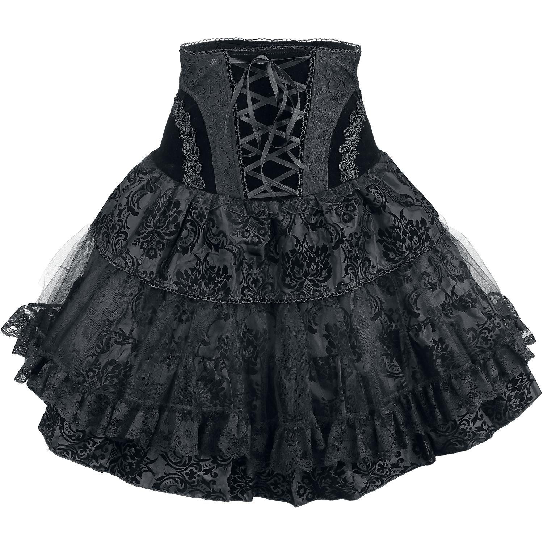 UB Corset Skirt - Korte rok van KuroNeko - ✝Go†h Mori Bruja strega ...
