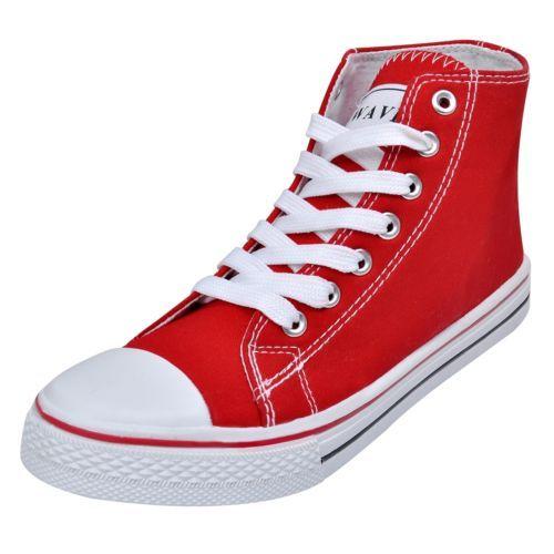 015d16c5854d Ebay Angebot High Top Damen Sneaker Sportschuhe Freizeit Schnür Schuhe  Turnschuhe Gr. 41  SIhr QuickBerater