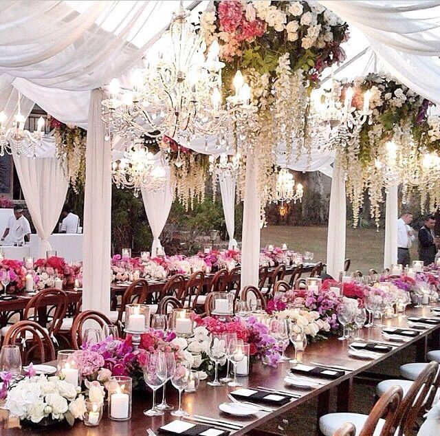 Wedding Decorations For The Roof And Table Table Decorations