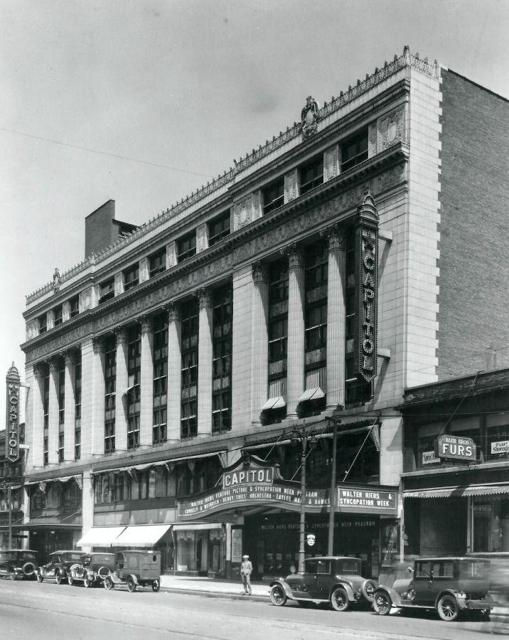 Detroit Opera House Old photos gallery