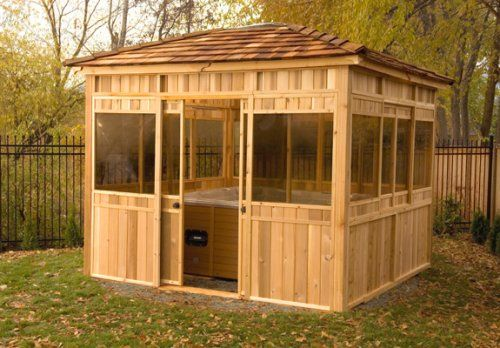 Hot Tub Gazebo Plans Search Results Hometiful Hot Tub Gazebo