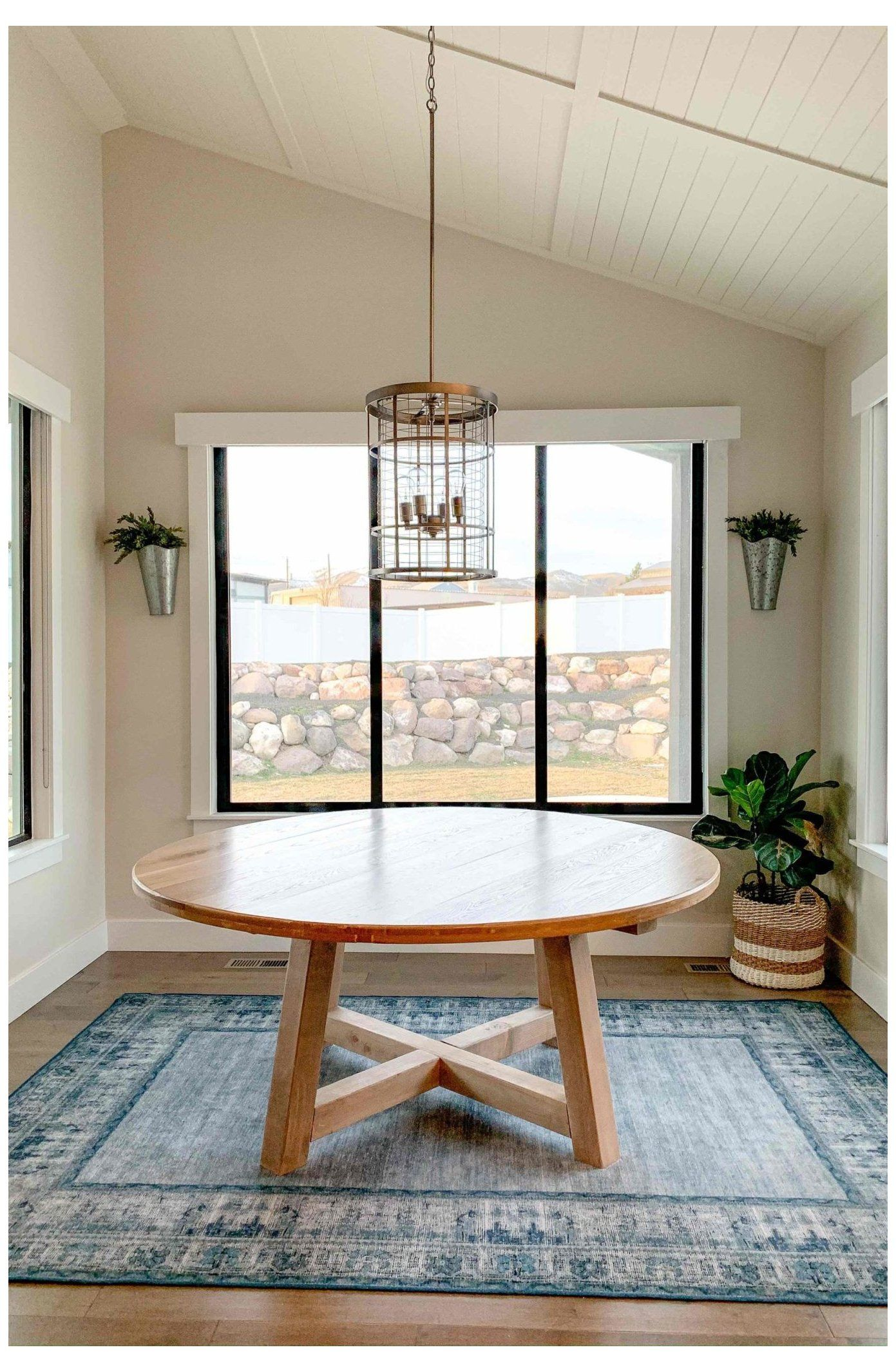 """how to build a 70"""" round dining table round dinning"""
