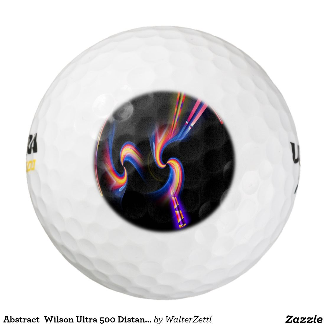 Abstract  Wilson Ultra 500 Distance Golf Ball Pack Of Golf Balls