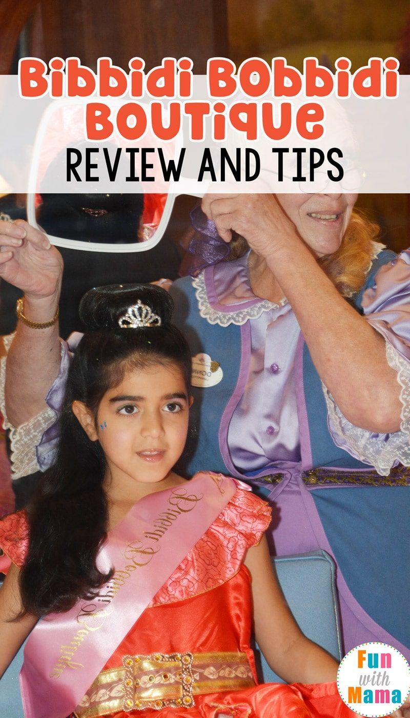 Bibbidi Bobbidi Boutique Review Helpful Tips Disneyland