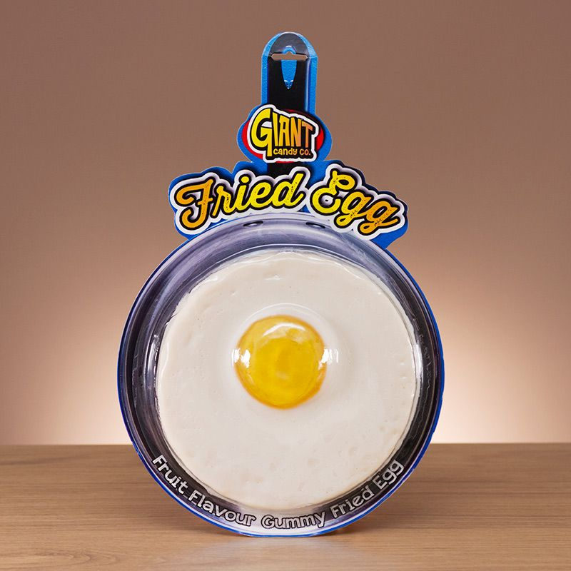 Giant gummy egg
