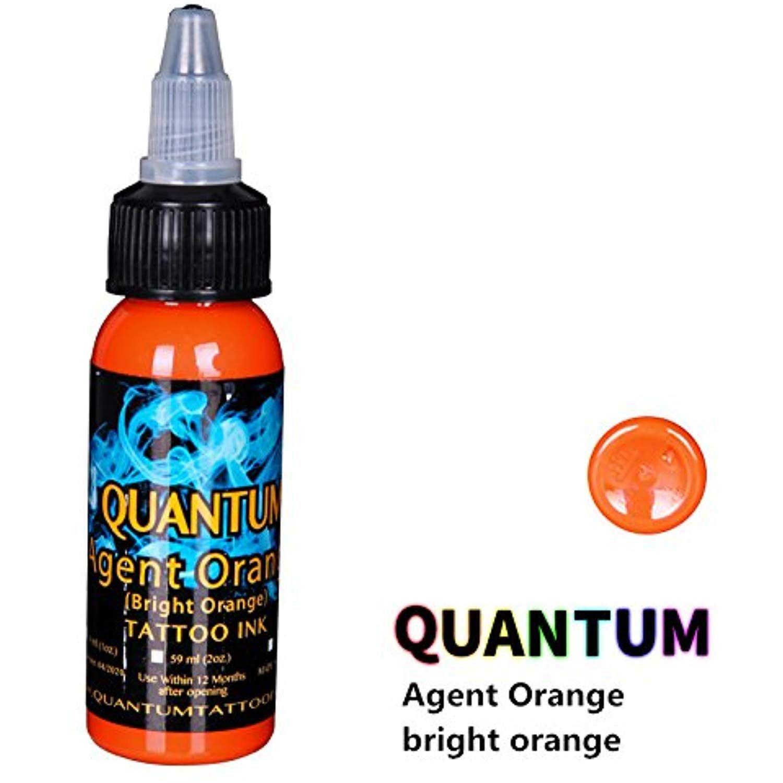 Quantum Tattoo Inks Agent Orange(Bright Orange) 1oz