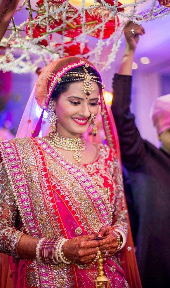 Kratika sengar nikitin dheer wedding hairstyles