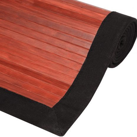 This Bamboo Rug is an economic and green addition to any household. It is made of all natural bamboo, a renewable resource, so it is good for the home