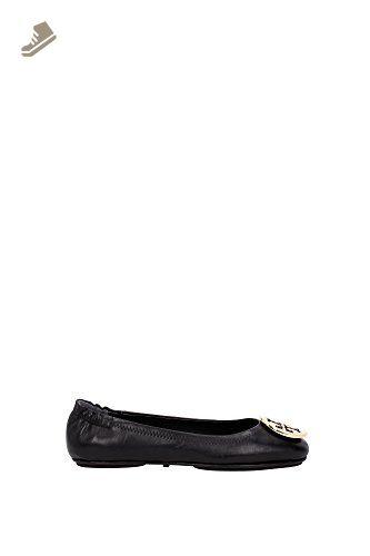da40d89d396 Tory Burch Minnie Travel Leather Ballet Flat - Size 7.5