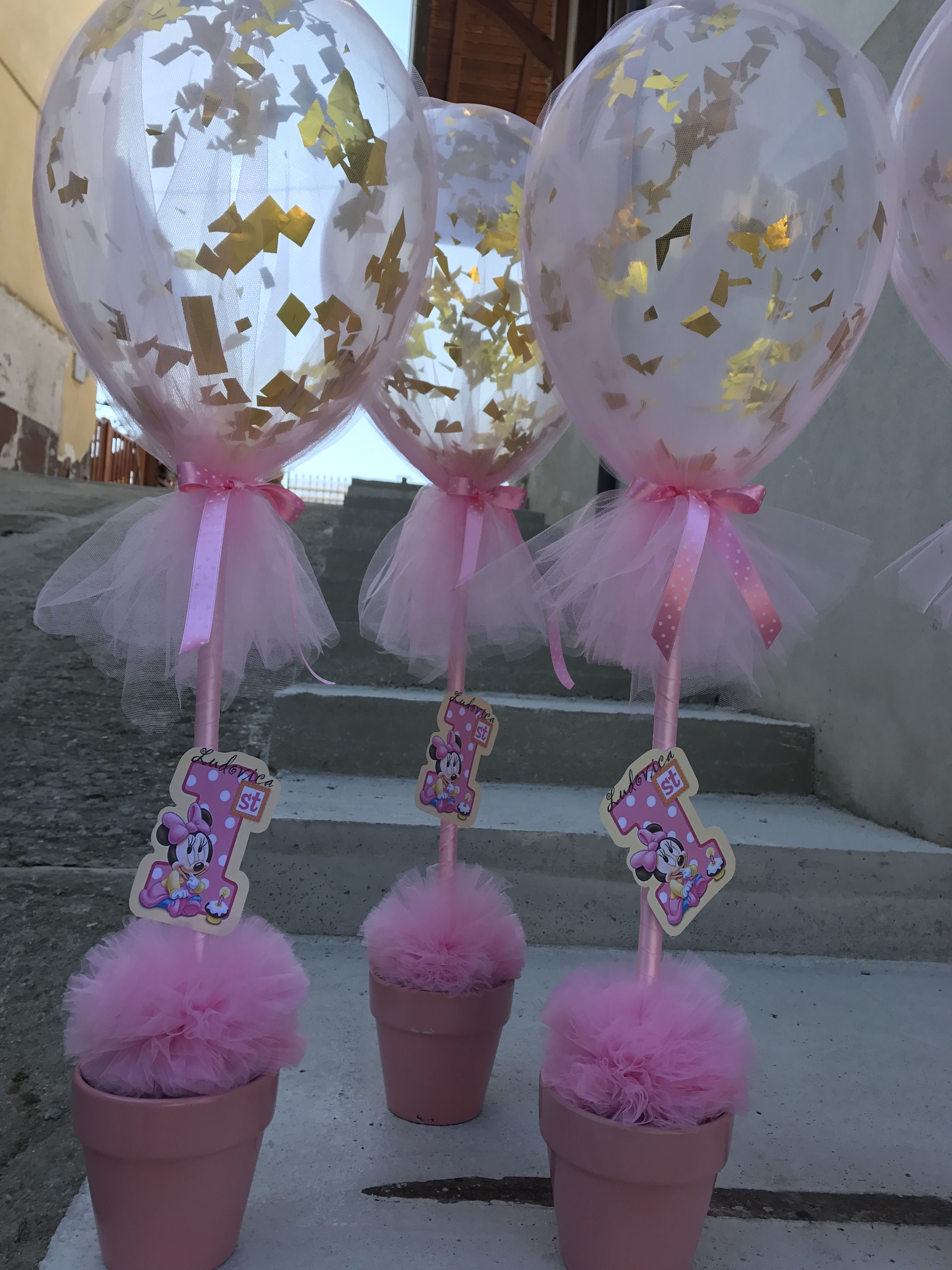 Tavolo Minnie ~ Minnie party compleanno a tema baby minnie first birthday girl