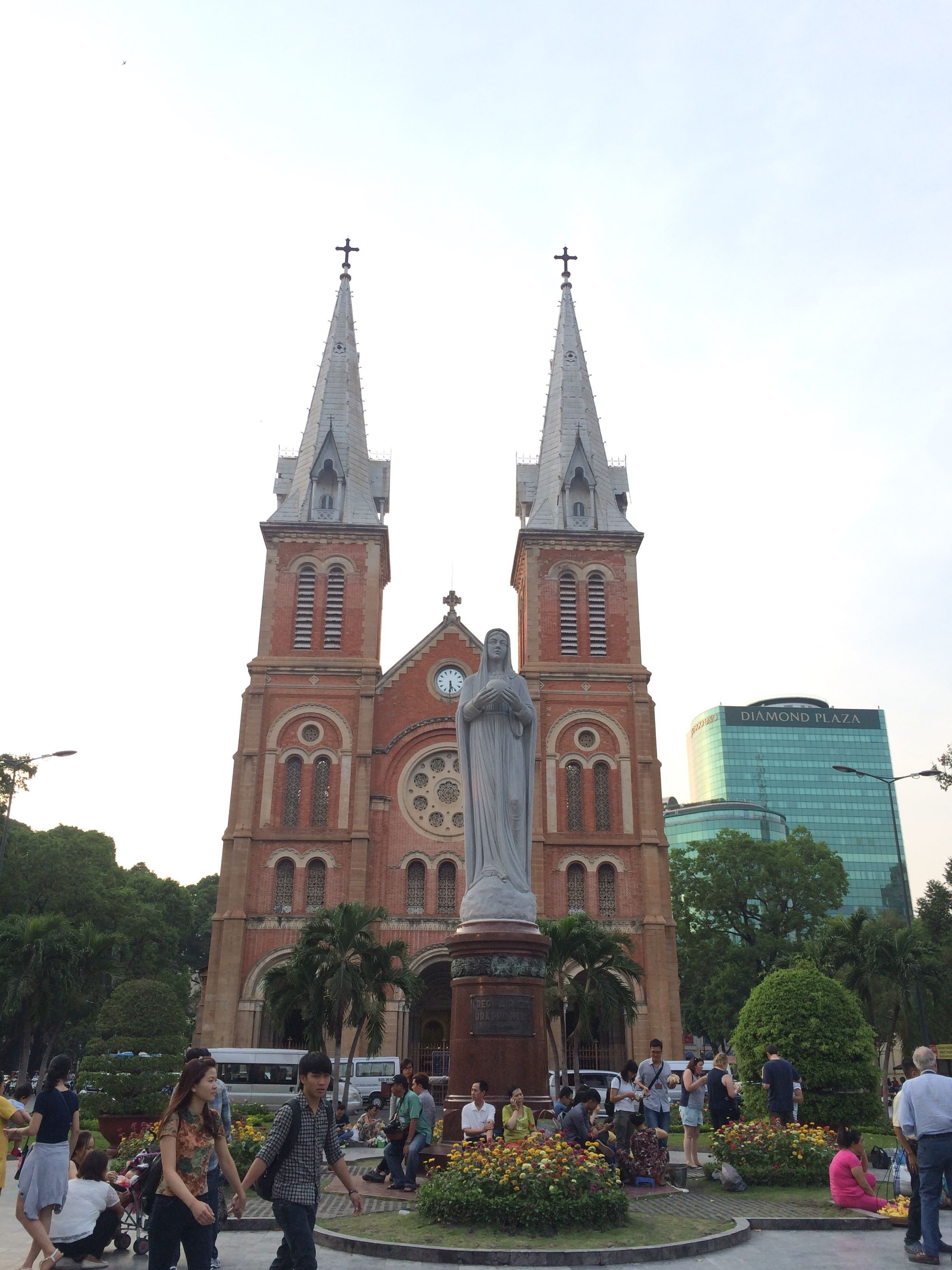 Saigon old catheral church