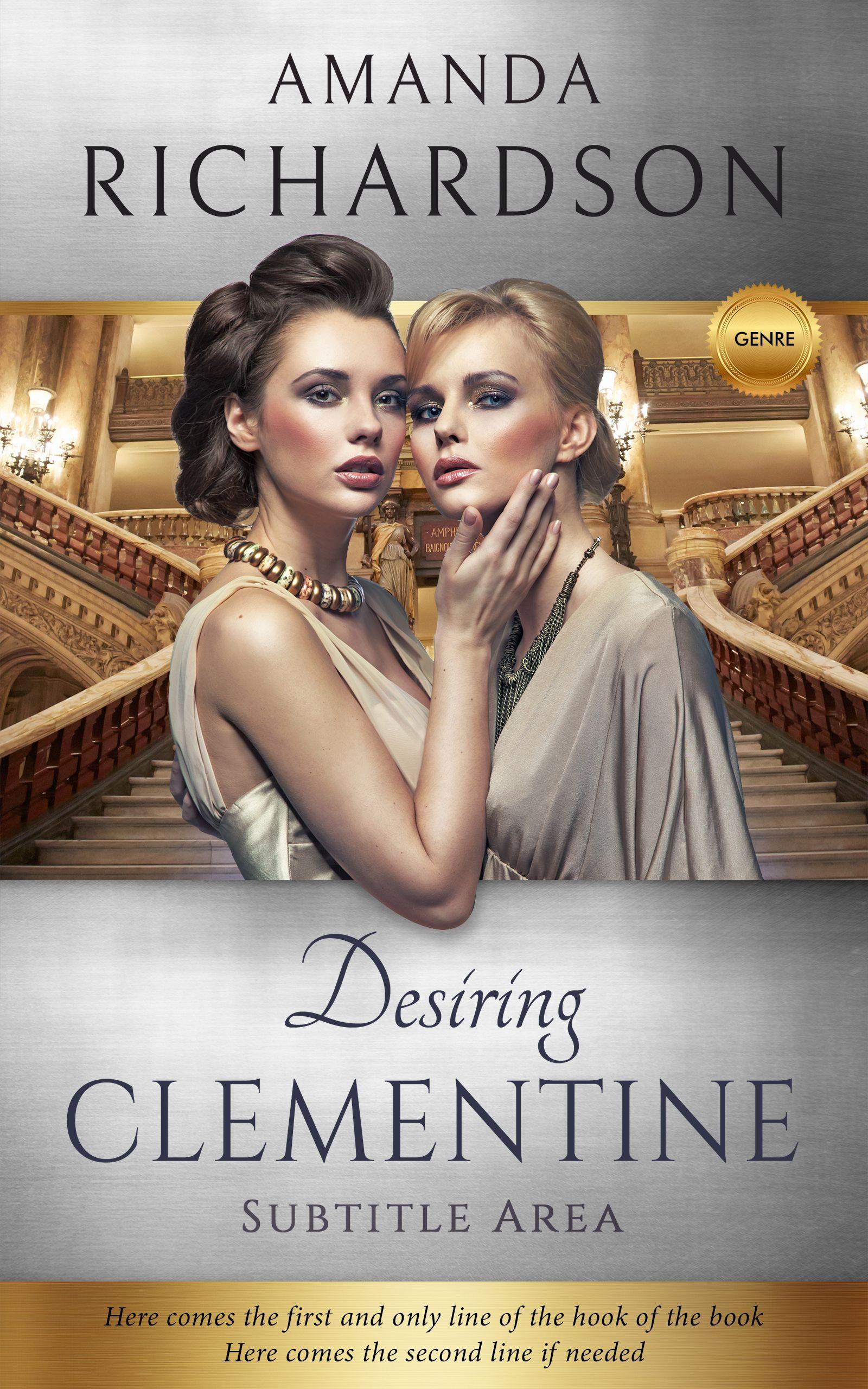 Napa new fiction royal romance premade book cover napa