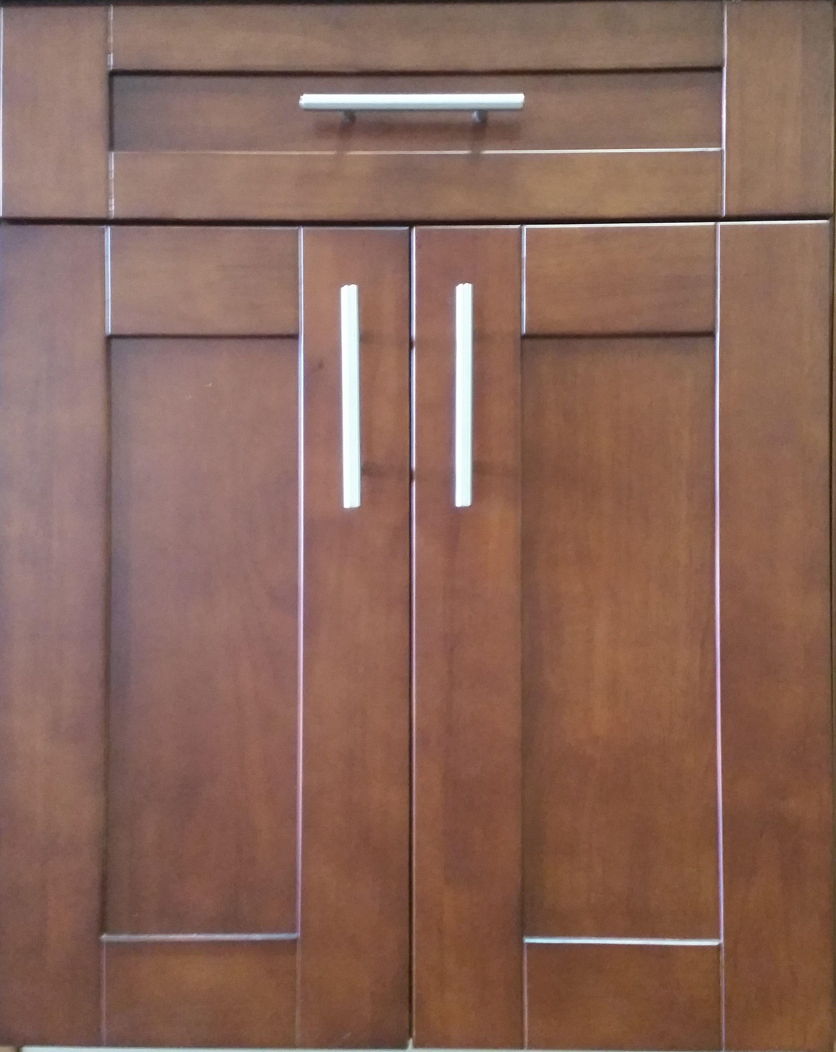 Cy Mahogany Shaker Cabinet Door Styles In 2019 Pinterest
