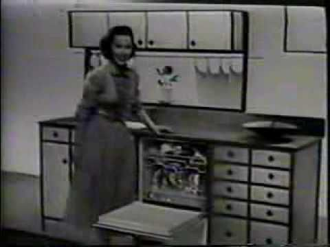 Frigidaire Automatic Spray Tube Dishwasher TV Commercial - 1956