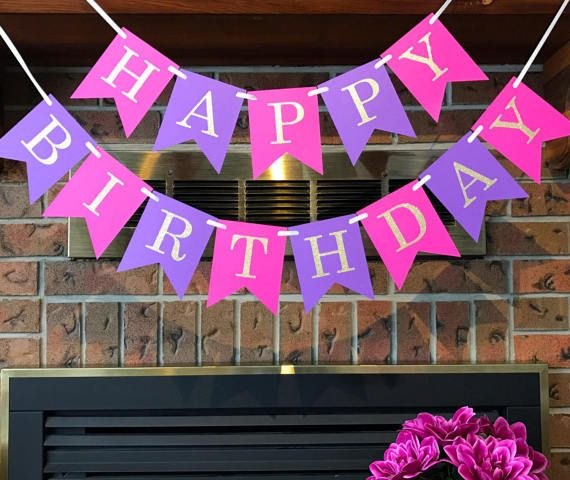 Happy Birthday Celebrate In Style With This Pretty Pink And