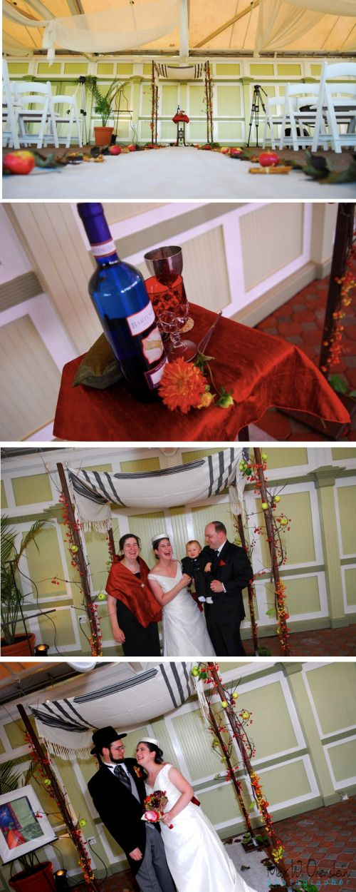 Apple Theme Wedding Chuppah By Limelight Floral Design Hoboken Nj