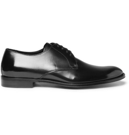 #DolceGabbana Leather Derby Shoes | MR PORTER