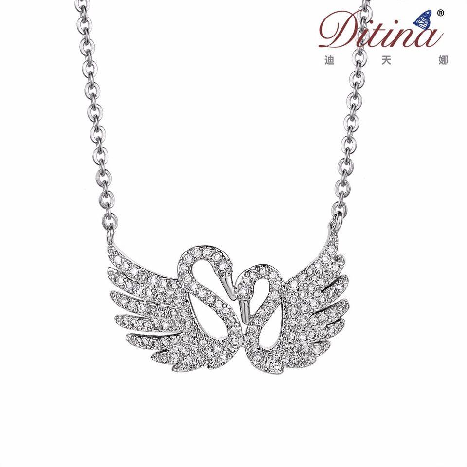 Pendant shape sliver fashion jewelry style ditina swan necklace pendant shape sliver fashion jewelry style ditina swan necklace aloadofball Gallery