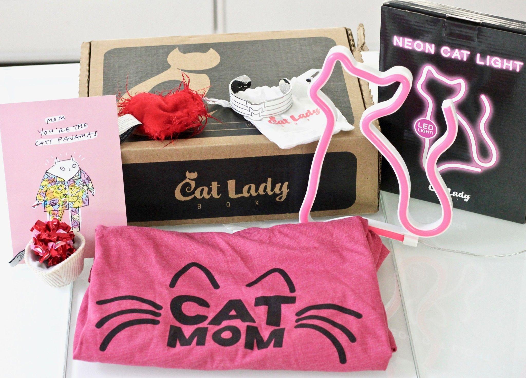 May 2019 Crazy CatLadyBox Review Neon cat, Buy a kitten