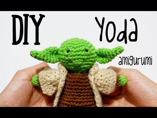 DIY Yoda Star Wars amigurumi crochet.ganchillo (tutorial) | Muñecos ...